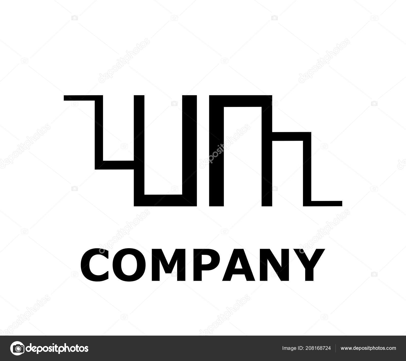 Logo Symbol Type Letter Letter Logo Design Idea Illustration Line