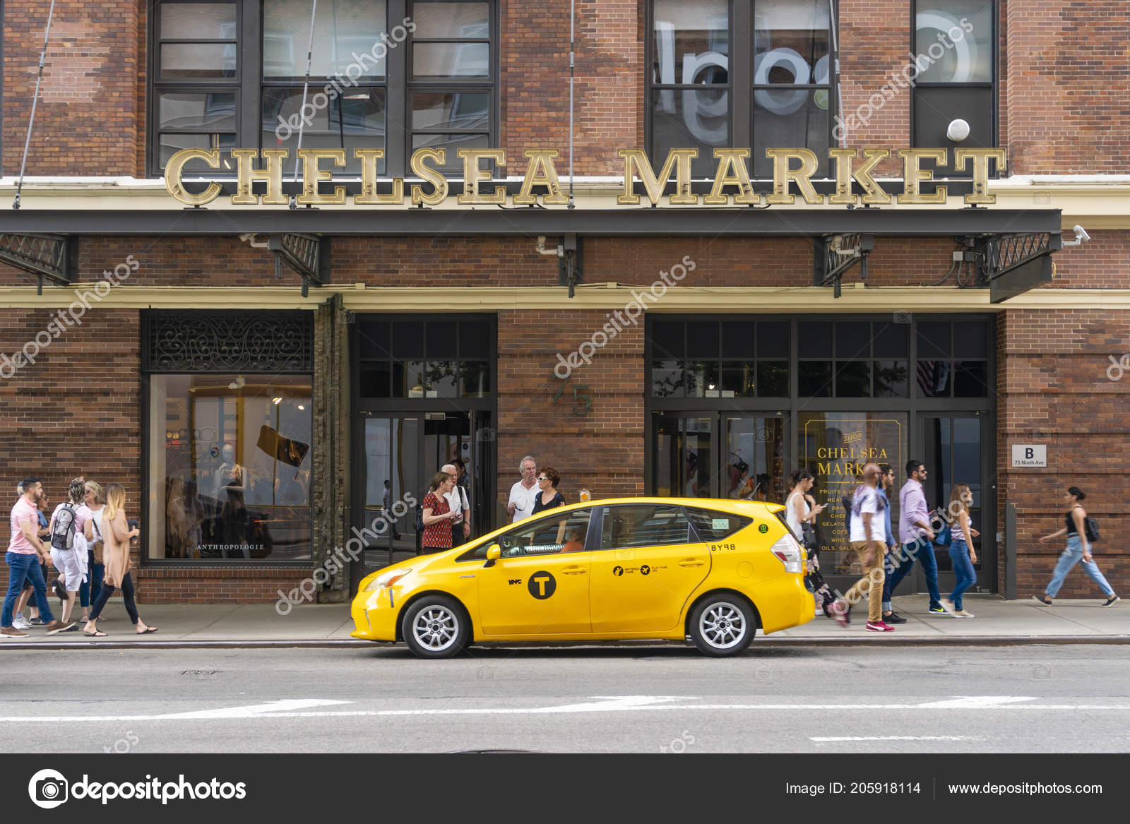 New York Usa May 2018 People Visiting Chelsea Market New – Stock
