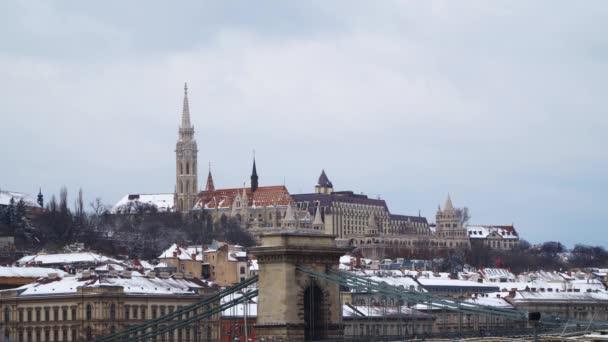Budapest: Rybářská bašta a Matyášův chrám