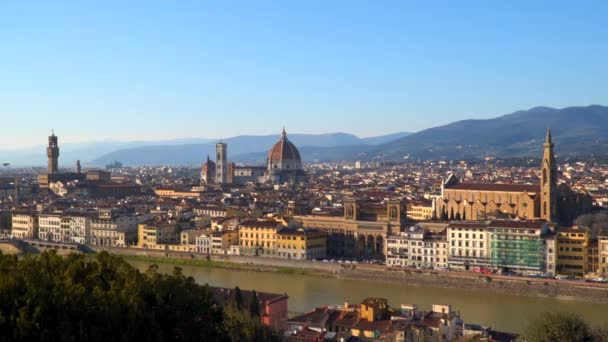 Historické centrum Florencie. Toskánsko Itálie