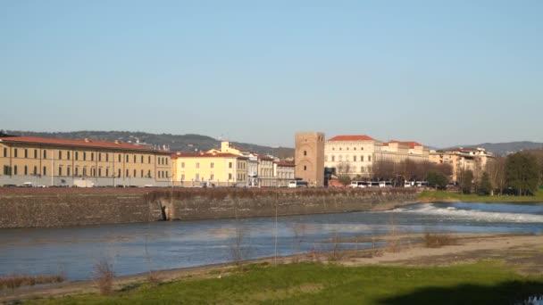 Řeky Arno. Toskánsko Itálie Florencie