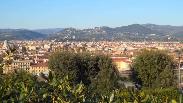 Florence Tuscany Itálie. Pohled z Piazzale Michelangelo