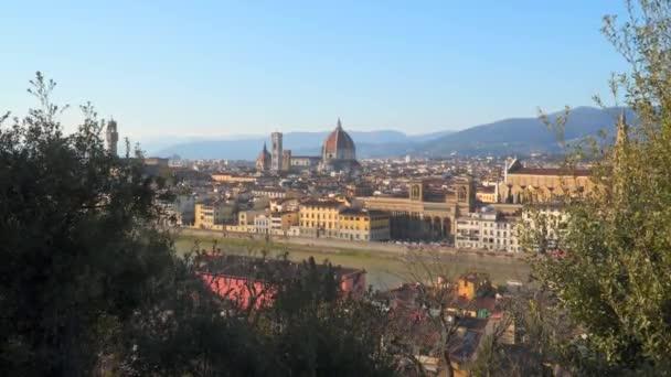 Cityscape a firenzei katedrális, Firenze, Toszkána, Olaszország