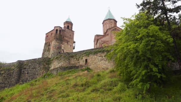 Gremi Citadela a kostel Archangelů v Kakheti, Gruzie.