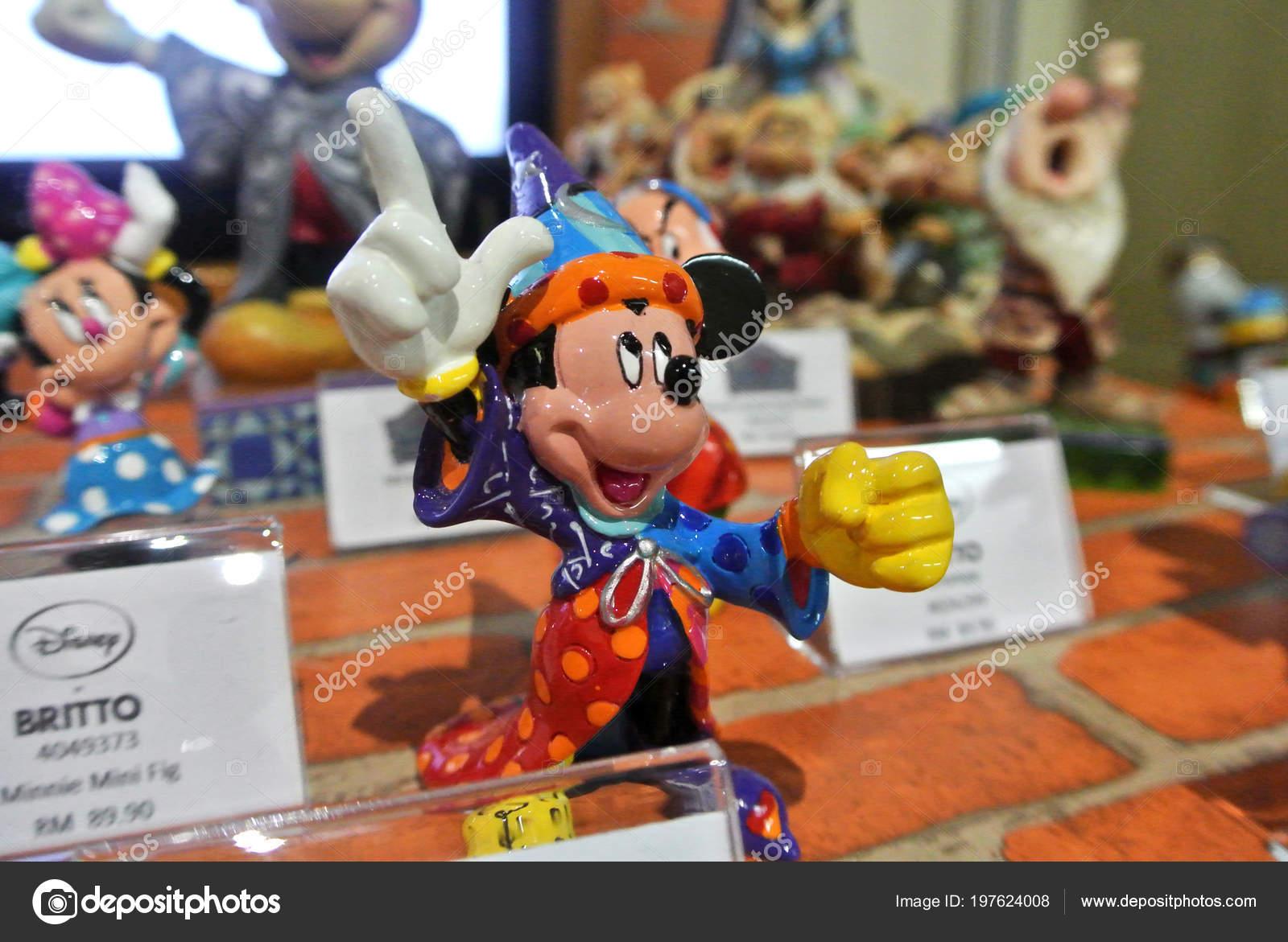 Kuala Lumpur Malajsie Dubna 2018 Fiktivni Kreslene Postavicky Disney