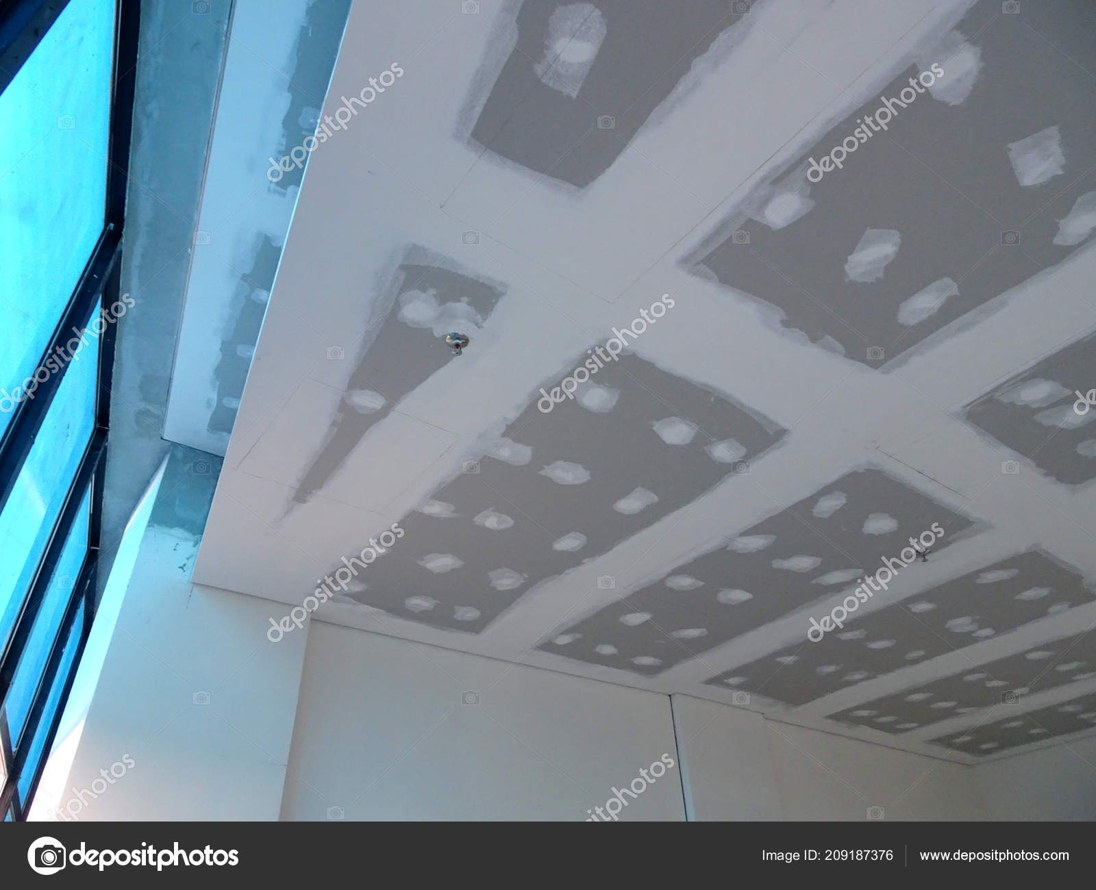 Kuala Lumpur Malaysia July 2018 Joint Less Plaster Ceiling