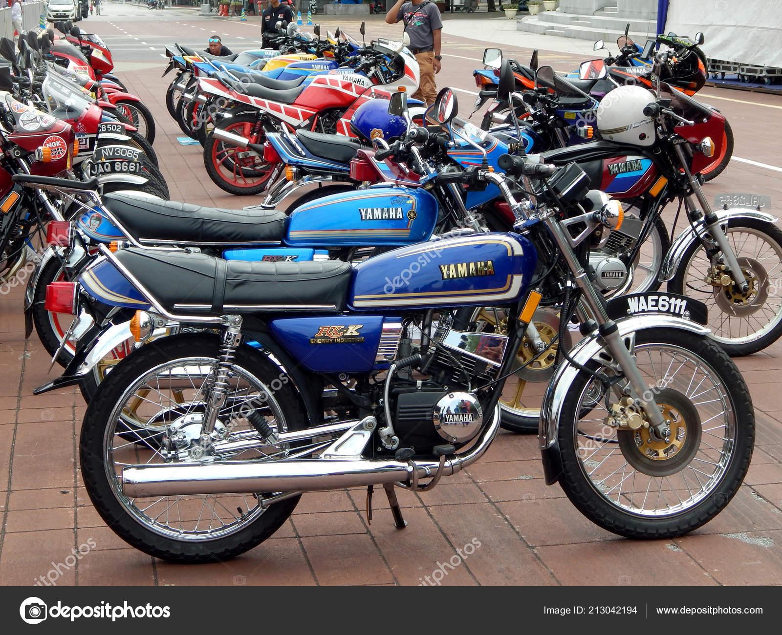 Kuala Lumpur Malaysia March 2018 Yamaha Motorcycle Brand Logos