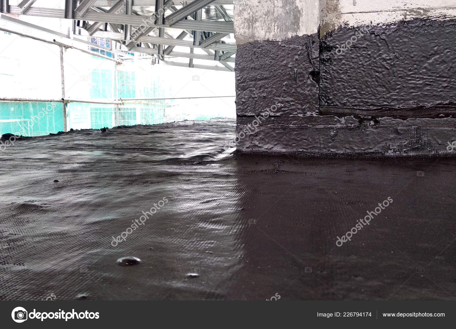 Kuala Lumpur Malaysia September 2018 Waterproof Coatings