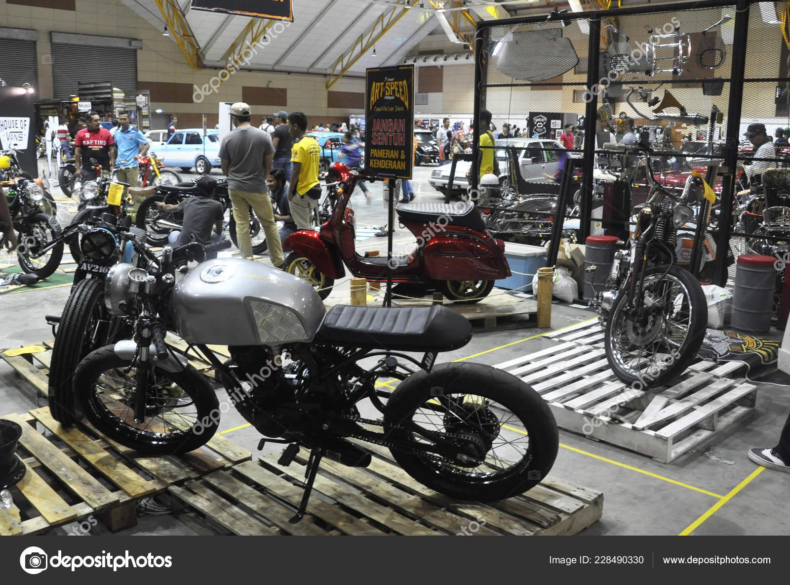 84f131c57757 Kuala Lumpur Malaysia June 2017 Big Bike Motorcycle Display Huge — Stock  Photo