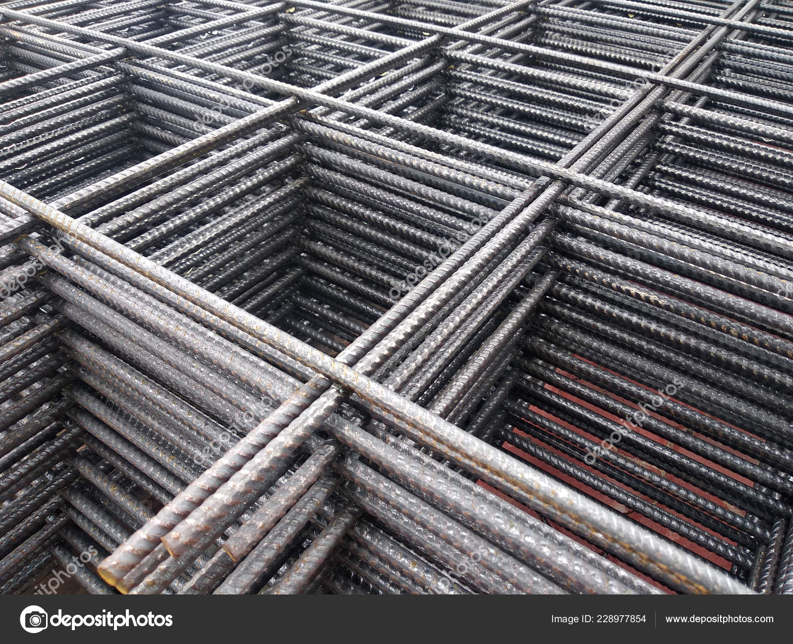 Brc Welded Wire Mesh Brc Fabric Used Part Main Structural — Stock
