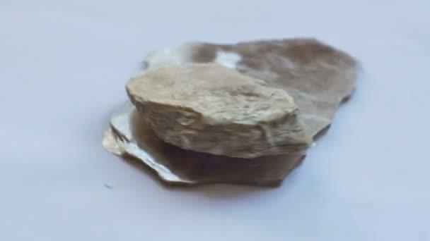 Pohled na moskevský minerální Hrouda vzorku