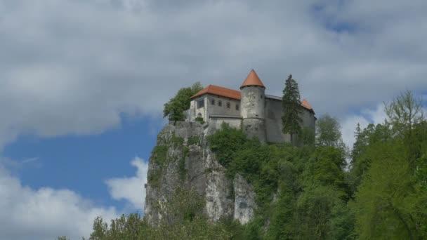 Pohled na nejlepší pohoří Krval hrad.