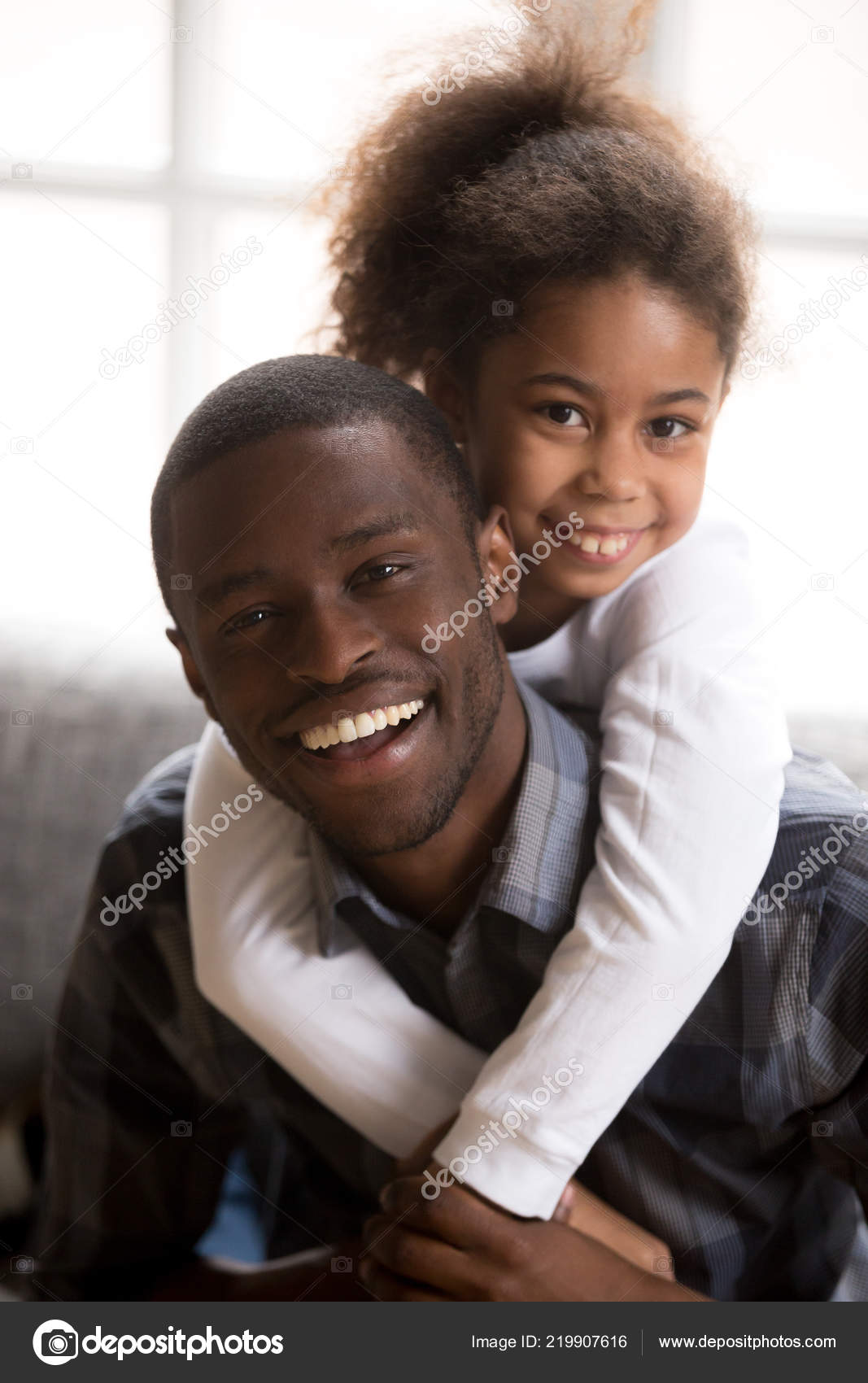 Black Step Daughter White Dad