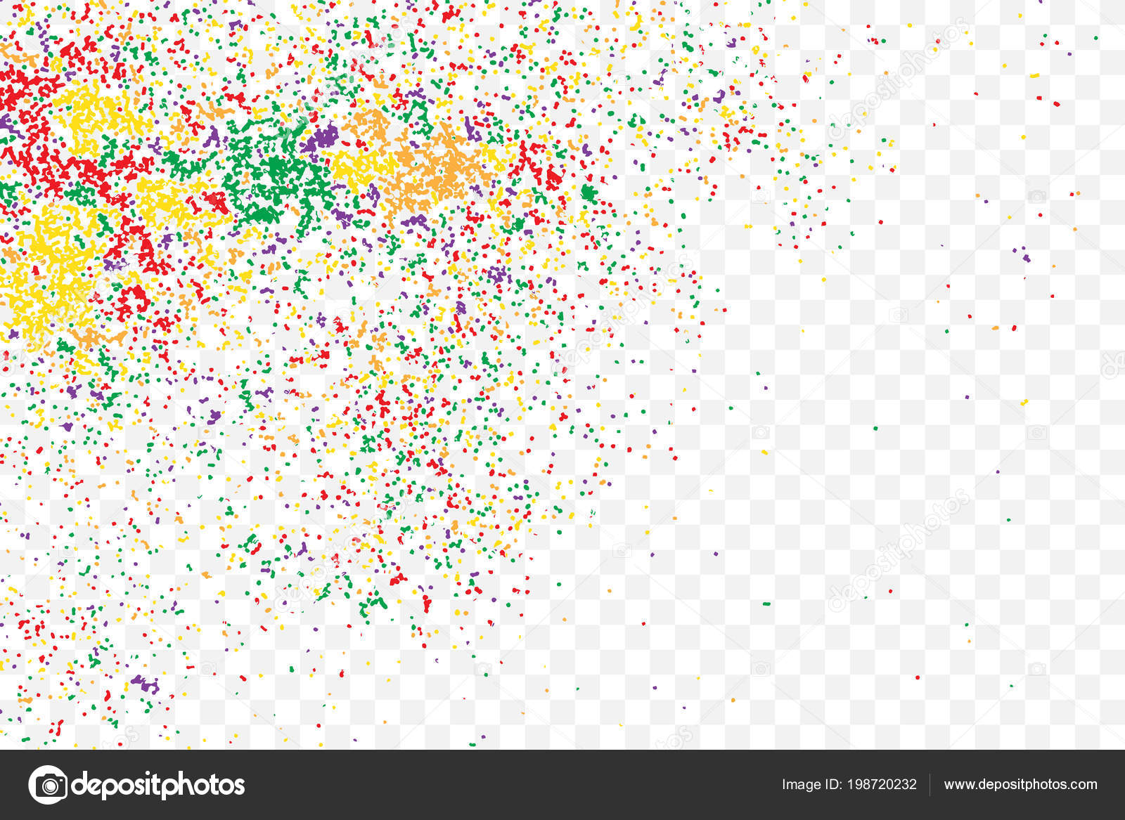 Colour Glitter Sparkles Background Metallic Sprinkles