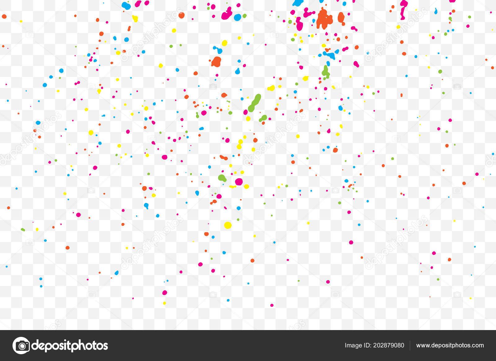 Colourful Explosion Confetti Grainy Textured Birthday Design