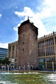 Fotografie Alter Roter Turm in Chemnitz, Deutschland