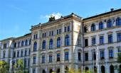 Fotografie Front der Technischen Universität Chemnitz