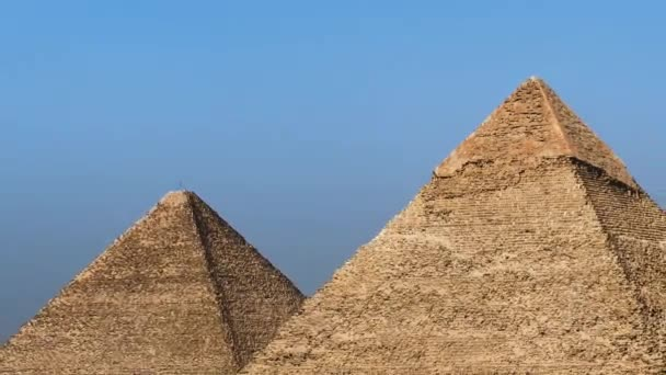 Zoom Out of the Great Pyramid - Giza Egypt