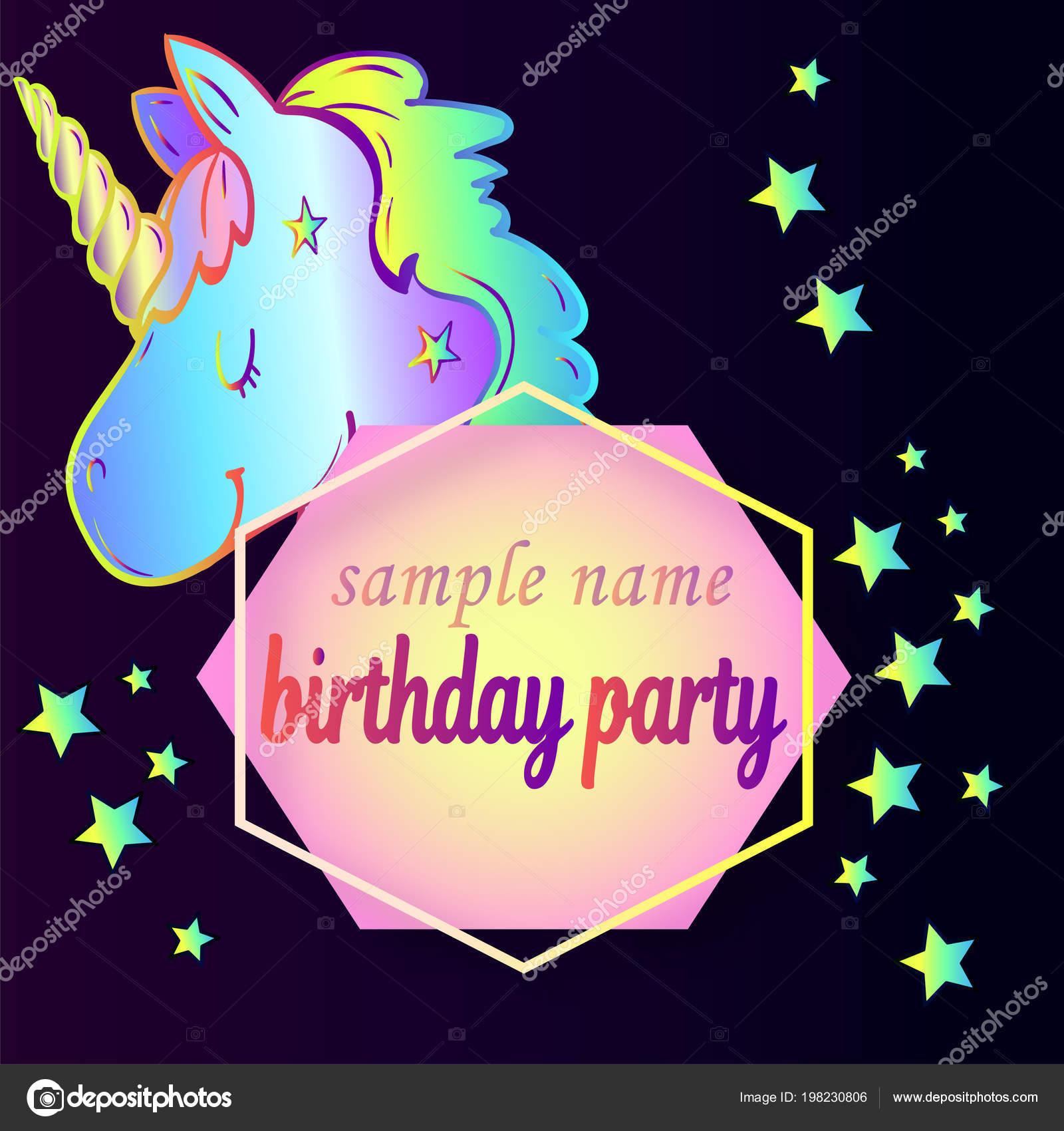 Imágenes Fondos De Unicornios Para Invitaciones Por