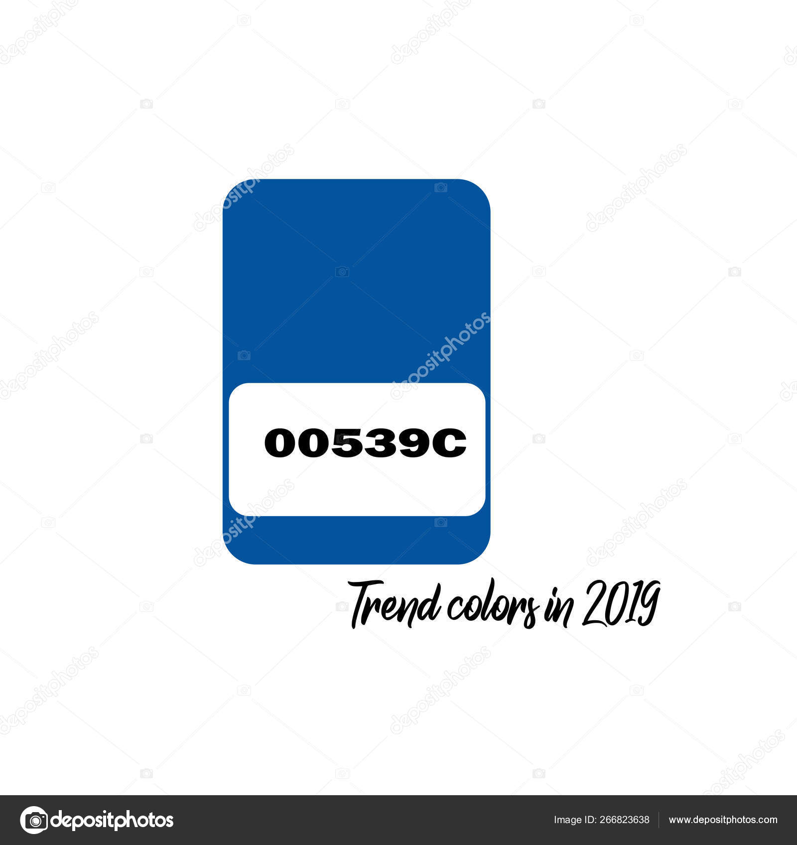 Spring Summer 2019 Color Trends Fashion Colours Isolated White