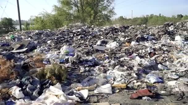Dump. A garbage dump that pollutes the environment
