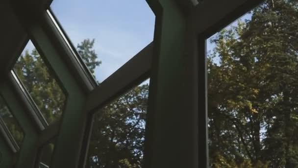 Okno. Okna s výhledem do přírody