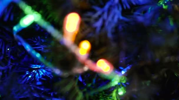 Christmas tree. Christmas tree with decorations