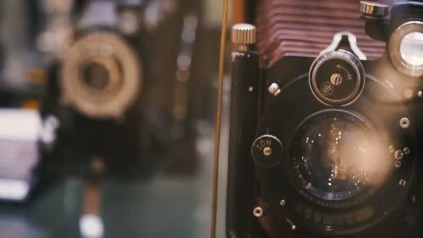 Retro camera. Vintage retro camera