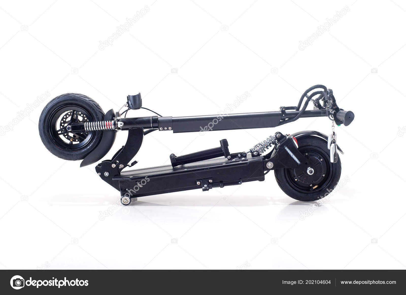 Electric Scooter Hoverboard Vehicle Stock Photo C Sergiomishin 202104604