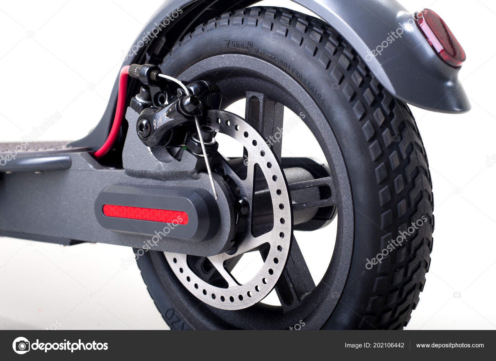 Electric Scooter Hoverboard Vehicle Stock Photo C Sergiomishin 202106442