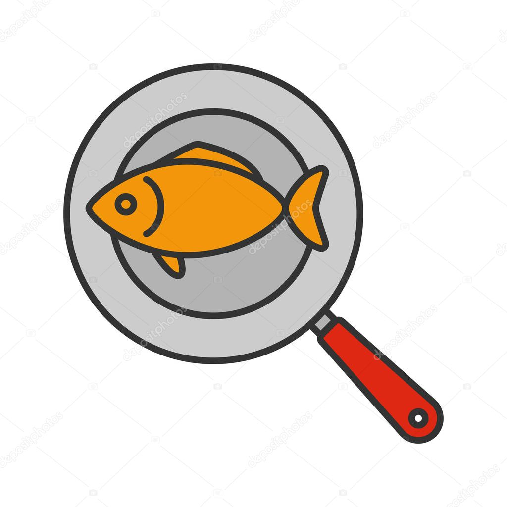 картинка рыбка на сковороде найдете скины