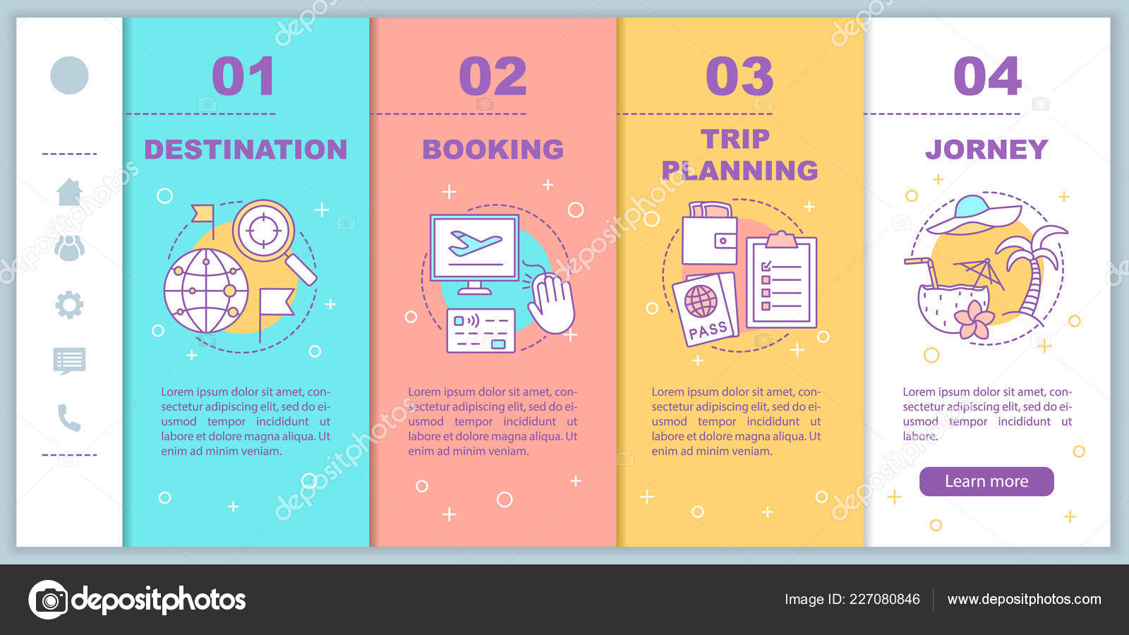 planning a trip template