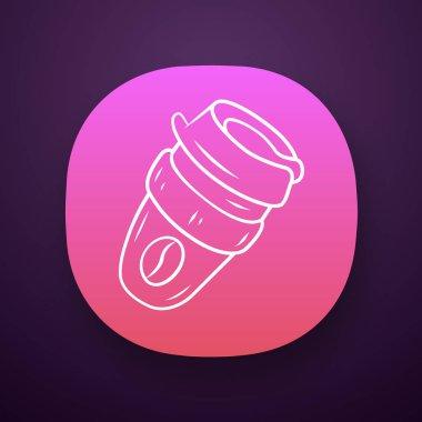 Reusable coffee cup app icon