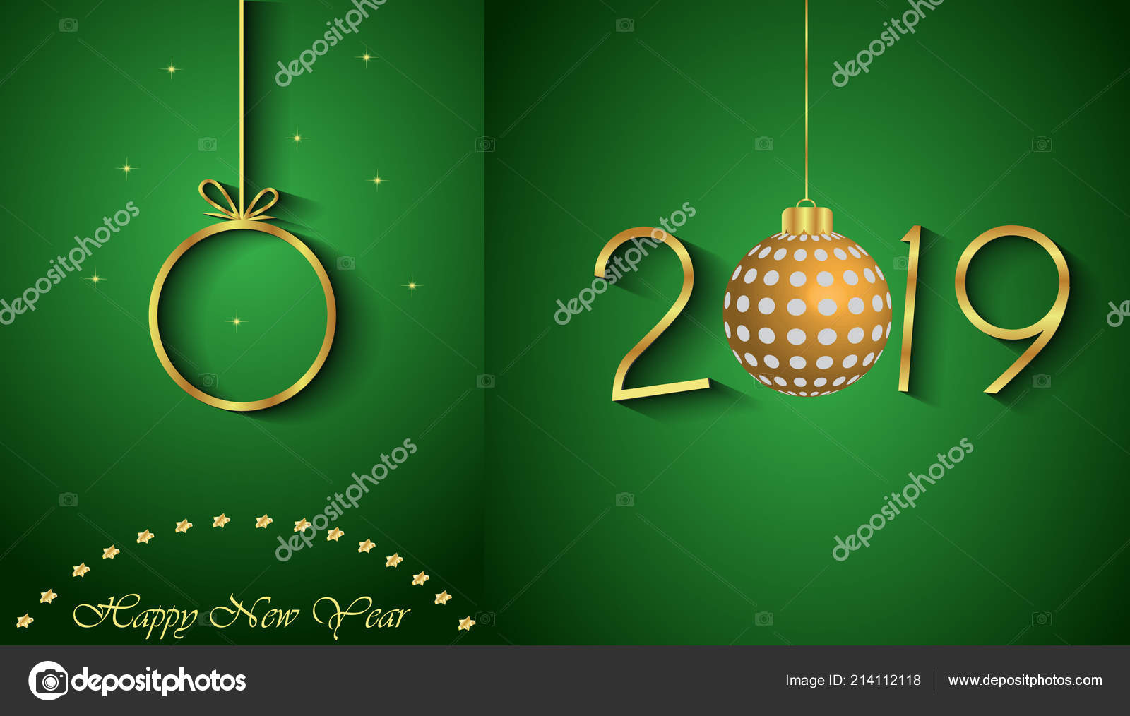 2019 happy new year background for your invitations festive posters greetings cards vector by plutonii