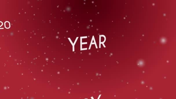 2020 šťastný nový rok.