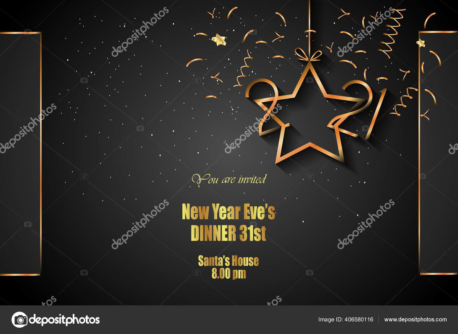 2021 happy new year background your seasonal invitations festive posters stock vector c plutonii 406580116 depositphotos