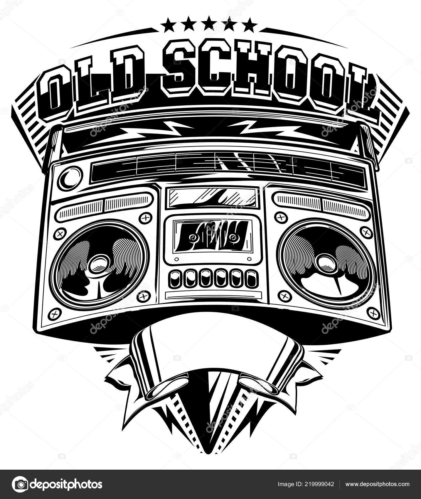 Vector Library Boombox Clipart Cool - Music - Png Download (#501016) -  PinClipart