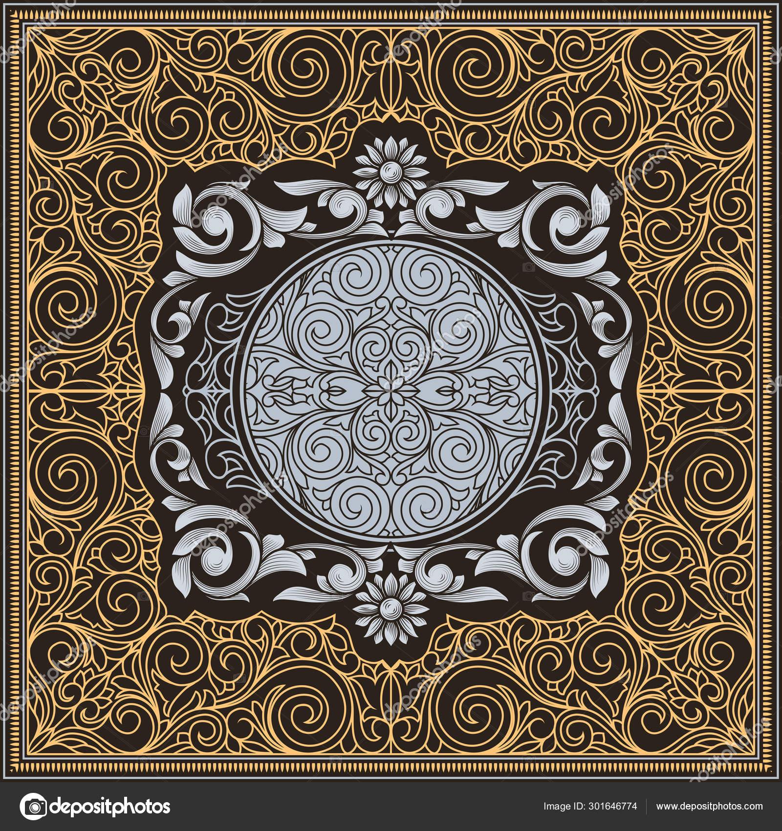 Vintage Dekorative Kunstvolle Design Karte Vektorgrafik Lizenzfreie Grafiken C Alex Scholar 301646774 Depositphotos