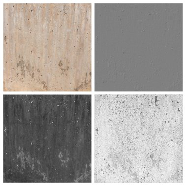 cement texture set of empty rouge places to your concept or product