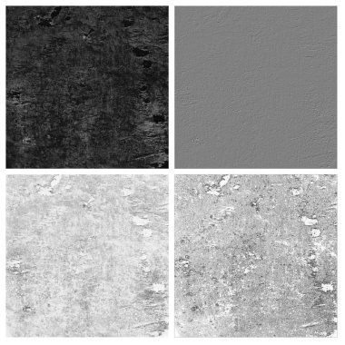 stone texture set of empty rouge places to your concept or product