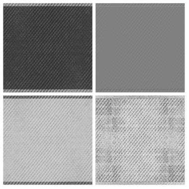 fabric texture set of empty rouge places to your concept or product