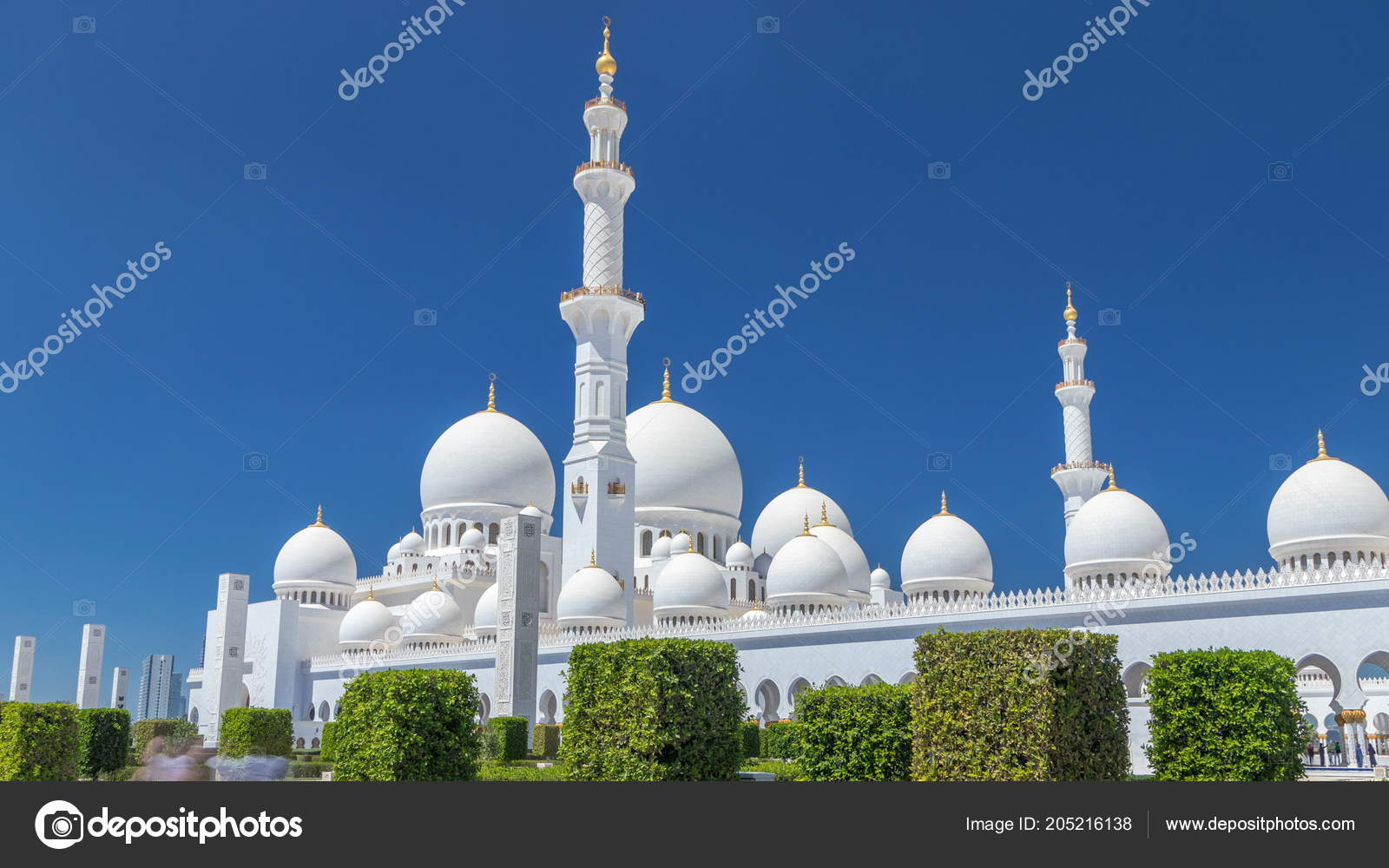 sheikh zayed grand mosque timelapse abu dhabi capital city united
