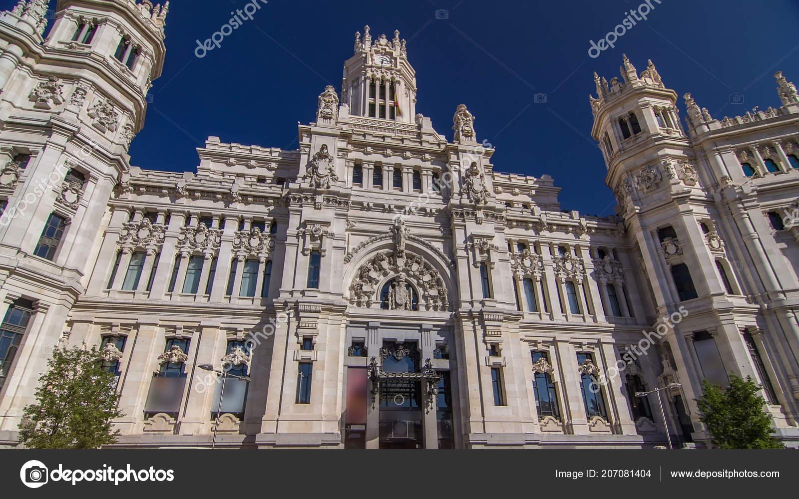 Hyperlapse Timelapse Cibeles Palace Palacio Cibeles Câmara