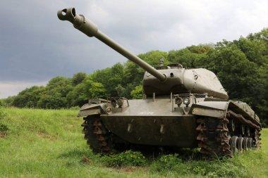 tank in Fort Eben Emael in Belgium