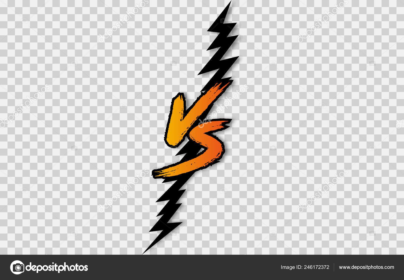 Letter Logo Battle Match Game Stock Vector C 4zeva 246172372