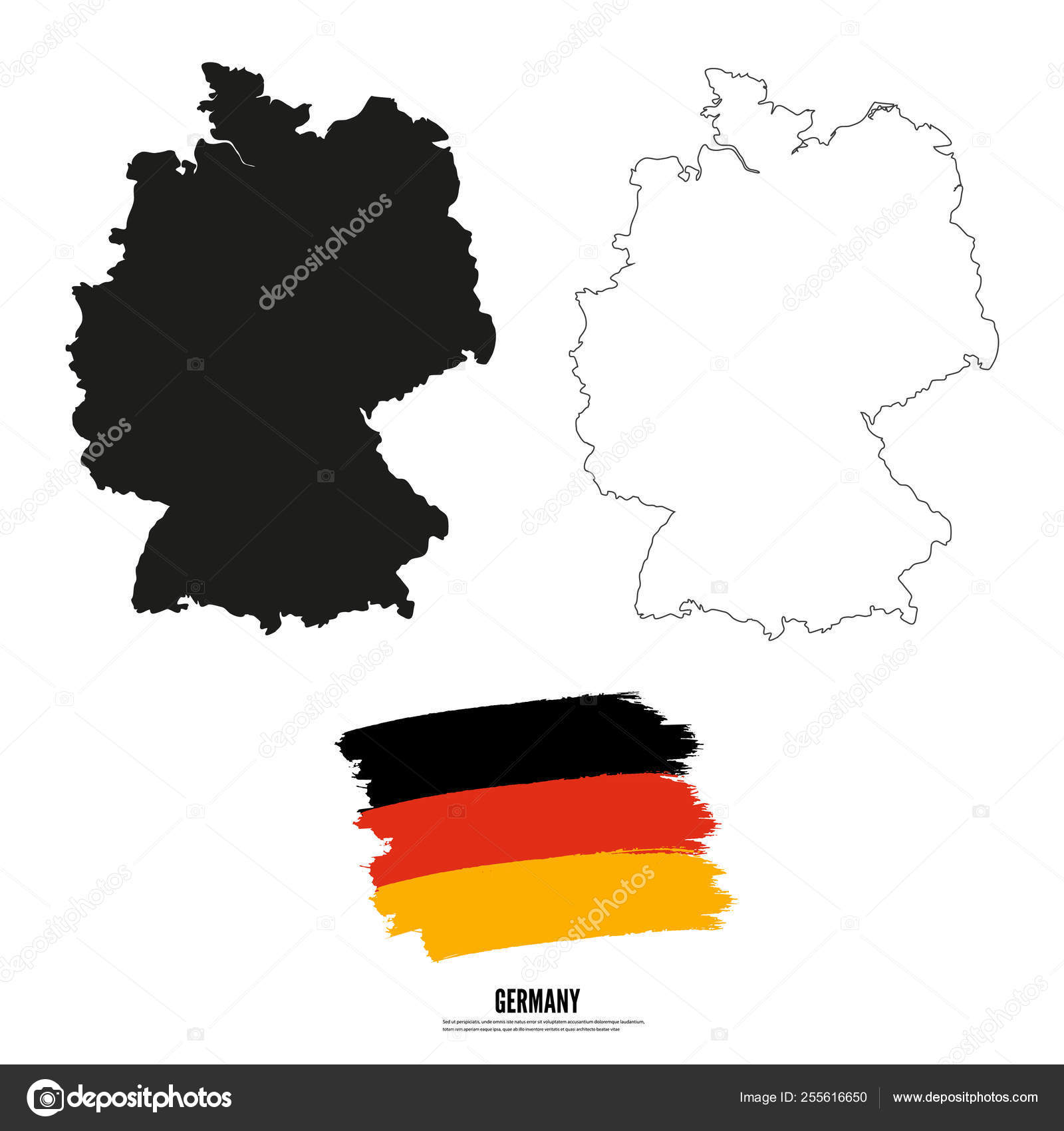 Detailed vector map and flag - Germany vector illustration ... on south sudan flag and map, england flag and map, slovakia flag and map, mozambique flag and map, british flag and map, iran flag and map, kuwait flag and map, france flag and map, arizona flag and map, malaysia flag and map, israel flag and map, syria flag and map, belize flag and map, portugal flag and map, zambia flag and map, chad flag and map, china flag and map, ireland flag and map, lebanon flag and map, ukraine flag and map,