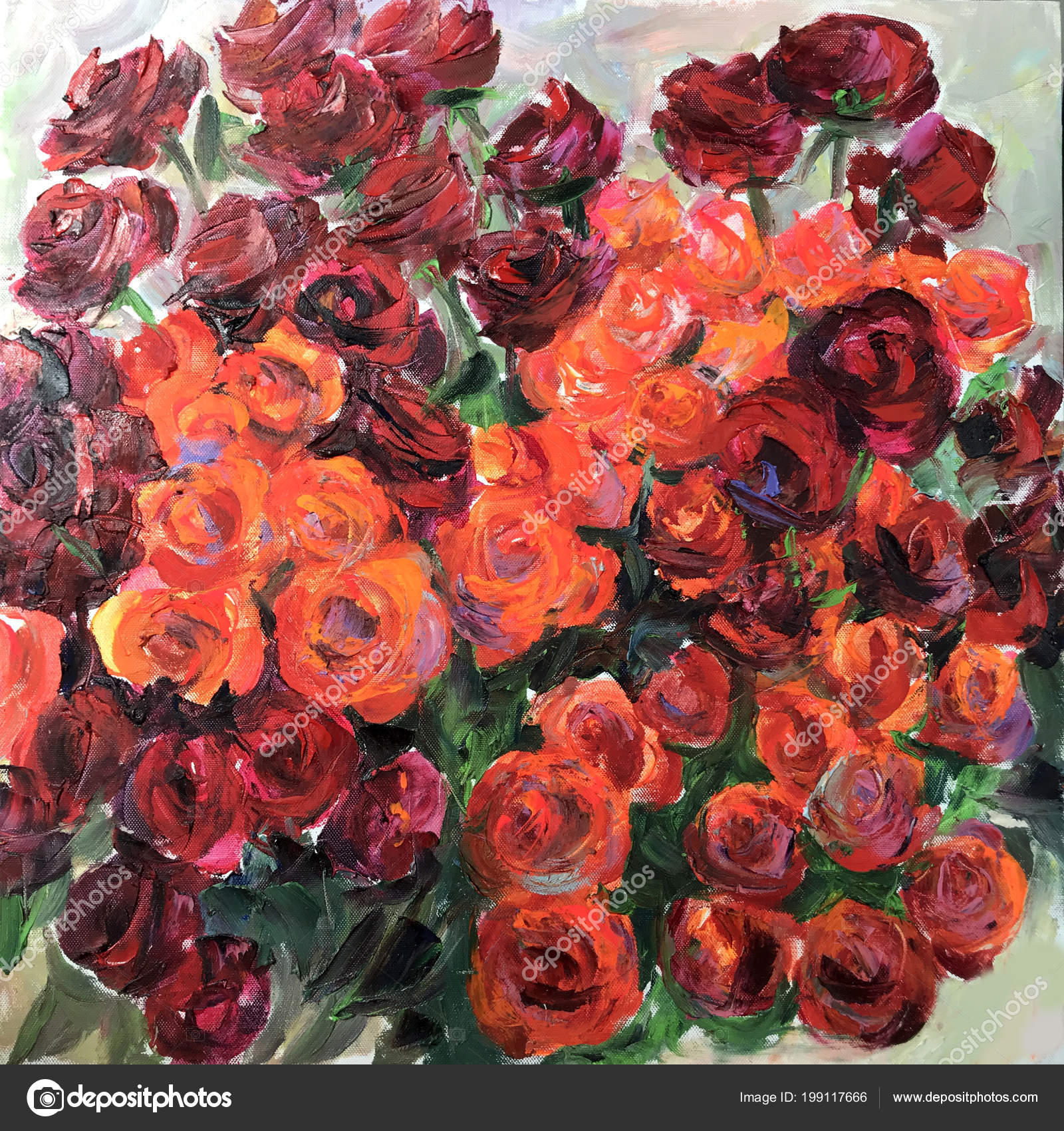 Drawing red roses flowers bouquet picture contains interesting idea drawing of red roses flowers bouquet picture contains an interesting idea evokes emotions aesthetic pleasure canvas stretched on stretcher oil natural izmirmasajfo