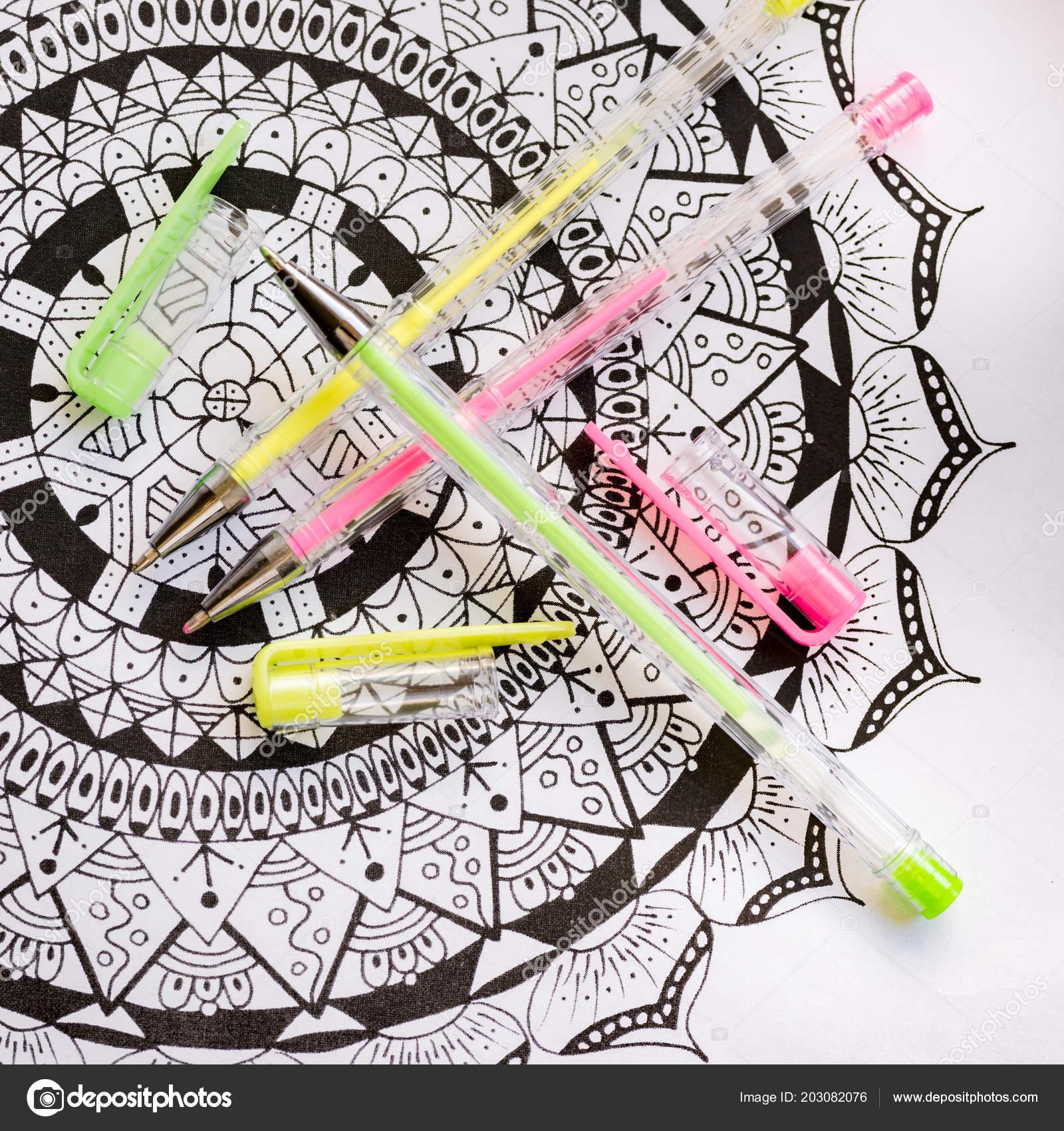 大人の塗り絵 新しいストレス傾向を緩和します 芸術療法 精神的健康