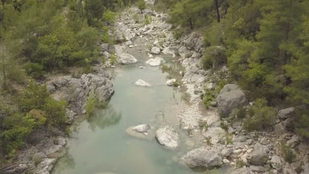 Aerial footage of the Mountain Lake