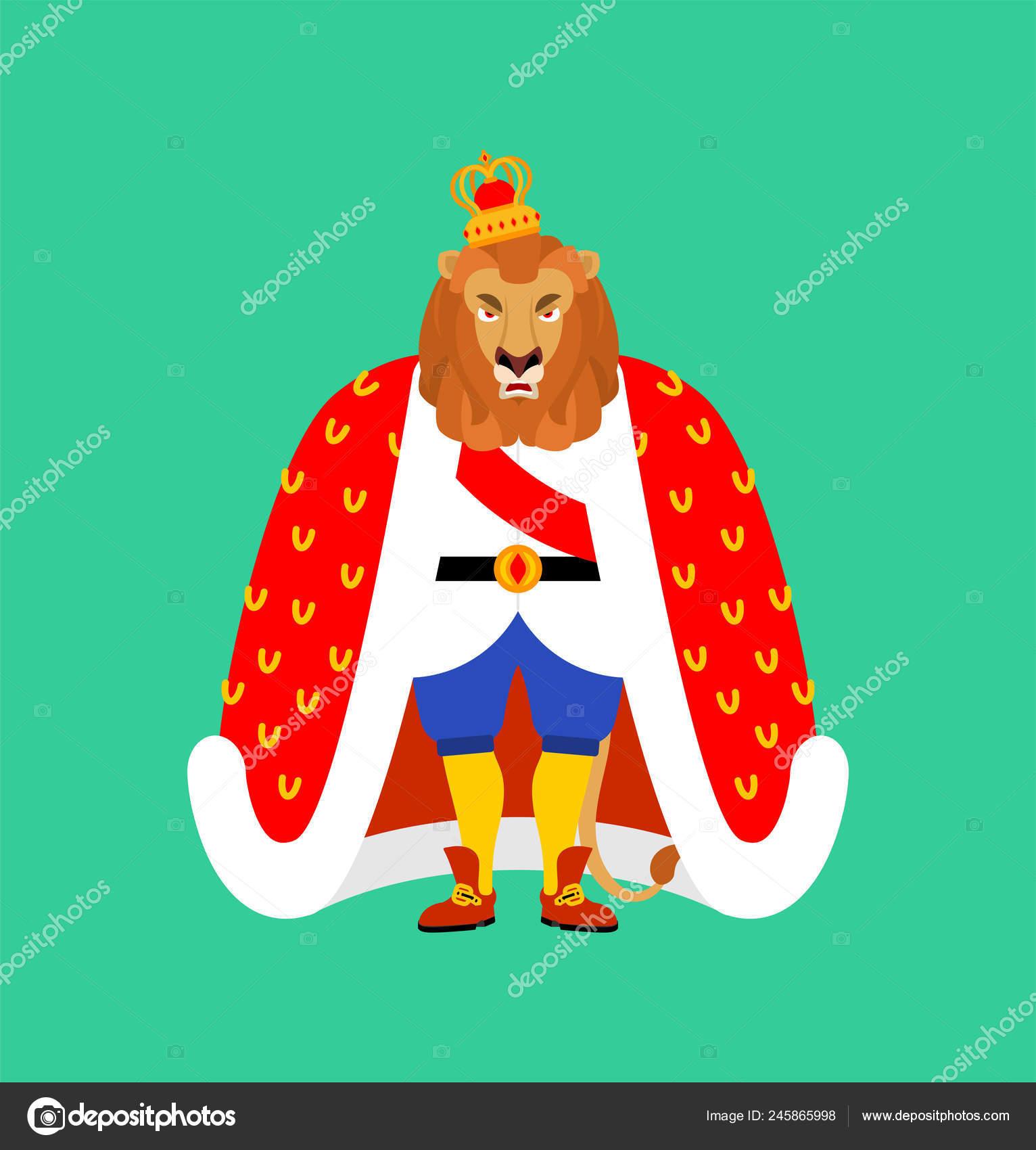 Lion King Animals Leo Crown Stock Vector C Popaukropa 245865998 Download king crown stock vectors. https depositphotos com 245865998 stock illustration lion king animals leo crown html